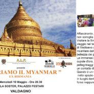 PRESENTAZIONE MYANMAR: Palazzo Festari 10 Maggio 2017 ore 20,30