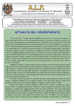 ALP Notiziario Marzo Aprile 2019