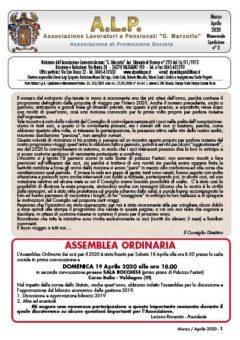 ALP Notiziario Mar-Apr 2020