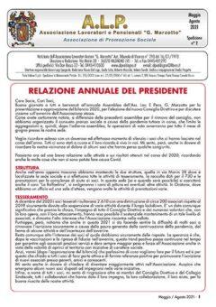 ALP Notiziario Maggio Agosto 2021