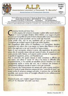 ALP Notiziario Sett-Nov 2021